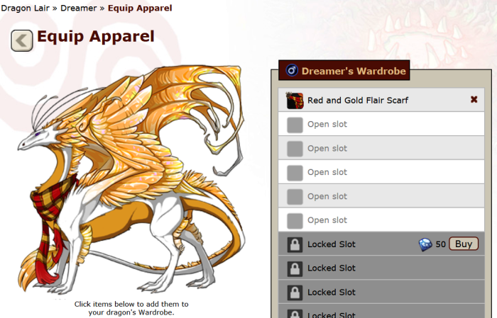 5 - Dreamer chest apparel